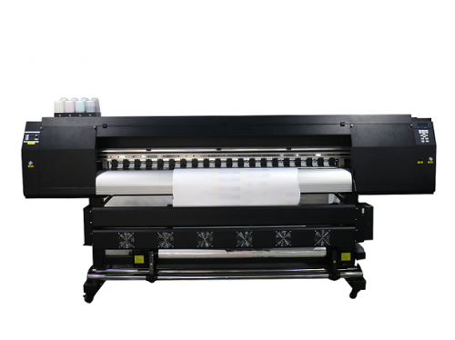 1.8m sublimation printer with 2 DX5 printer head