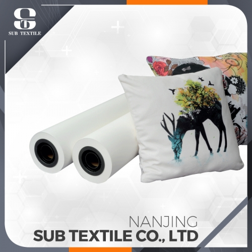 80gsm 1118mm High transfer Rate Sublimation Paper