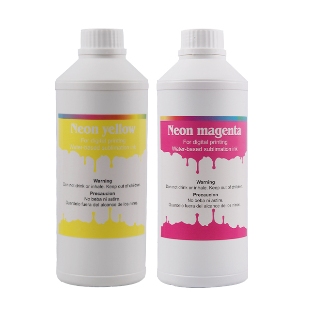 Fluorescent Sublimation ink--Magenta  for Epson/ Mimaki/ Mutoh printer