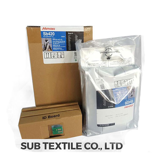 Sublimation ink for transfer printing